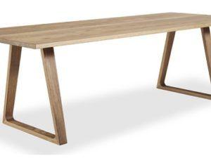 Skovby SM106E Plank Dining Table